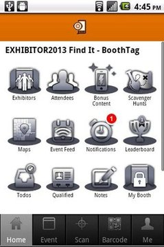 EXHIBITOR2013 Find It BoothTag