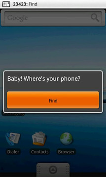Baby! Where's your phone?