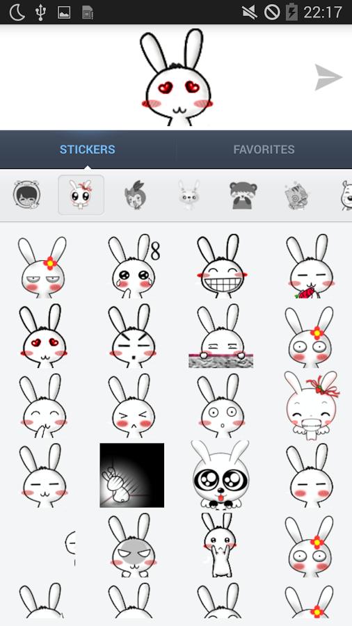 77mb 这个app会提供超过1000个可爱动画贴纸,在20个类别,并且完全免费