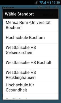 Mensa Uni Bochum