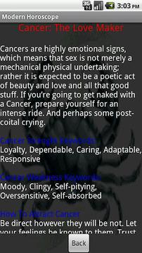Modern Horoscope