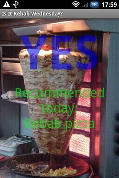 Is It Kebab Wednesday?
