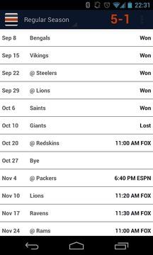 Da Schedule