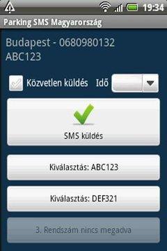 Parking SMS Magyarország