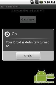 我的Droid开启了么?