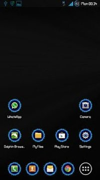 ICON PACK - Blue Fire Ring