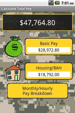 Military Pay 2010