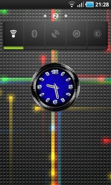 Clock BlackBlue