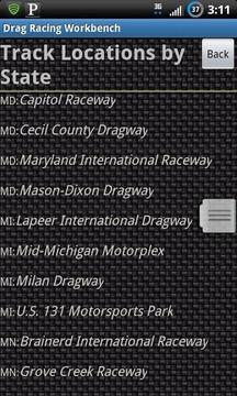 Drag Racing Workbench