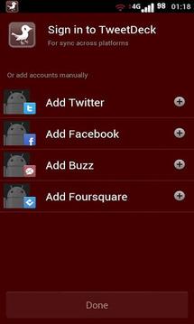 TweetRed Tweetdeck (Free)