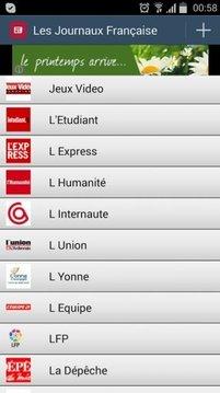 Les Journaux Française
