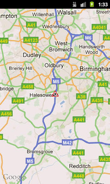 TrafficDroid England