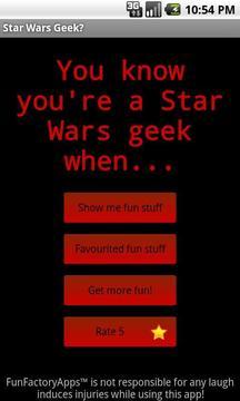 Star Wars Geek?