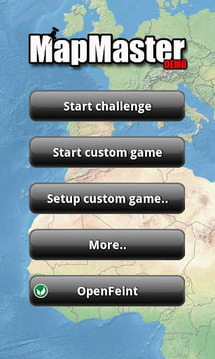 MapMaster DEMO -Geography game