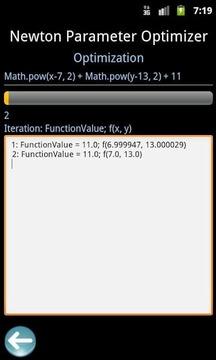 Newton Parameter Optimizer