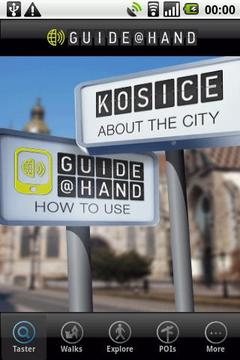 Kosice GUIDE@HAND