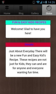 Fun Kids Recipes