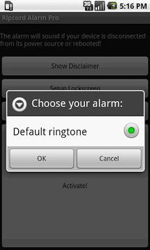 Ripcord Alarm Pro