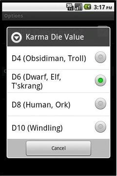Earthdawn Dice Roller