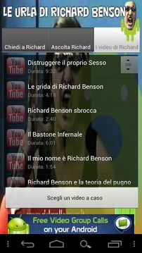 Le urla di Richard Benson