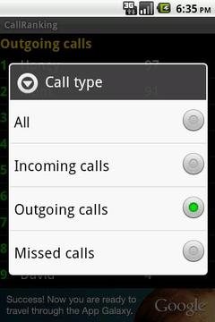CallRanking