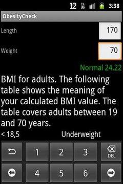 Obesity Check