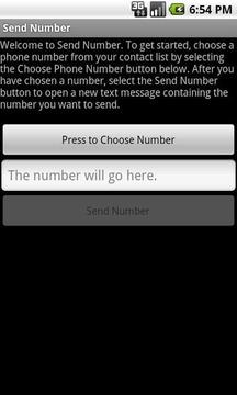 Send Number
