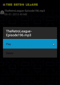 The Retro League Podcast