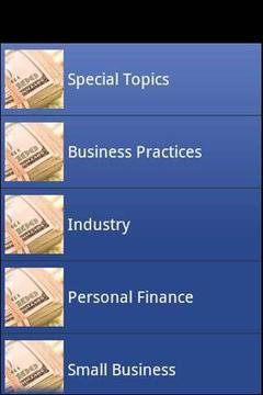About Business & Finance