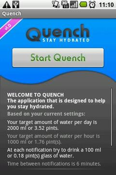 Quench Beta