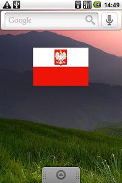 Polish Flag Widget