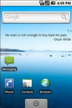 QuoteLine - quotes as widget