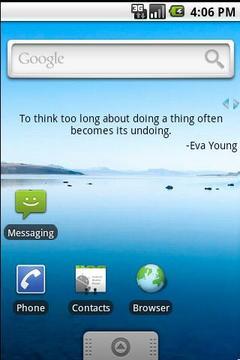 QuoteLine - quotes as widget
