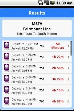 iTransitBuddy MBTA Rail Lite