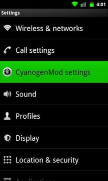 Galaxy Green for CM7