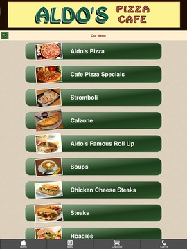 Aldo's Pizza Cafe