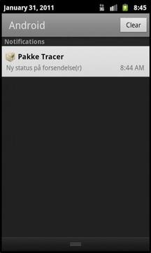 Pakke Tracer - POST i DK