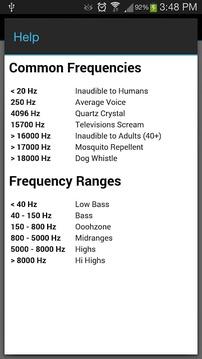 最喜欢的频率