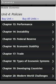 Economics Study Aid and Quiz
