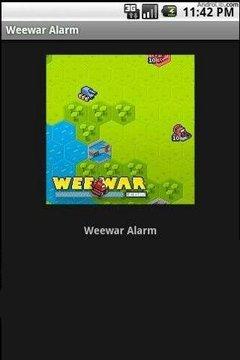 Weewar Alarm