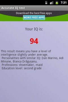 Find out your IQ