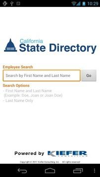 CA State Directory
