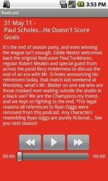 Manchester Utd. Redcast ...