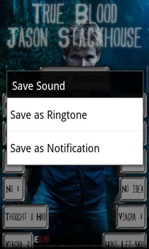 True Blood Jason Sound Board