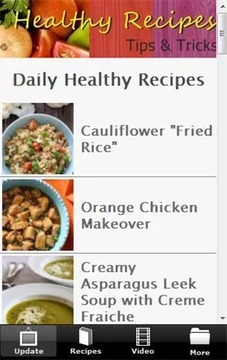 Recipe : Healthy Food (F...