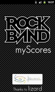 Rock Band myScores