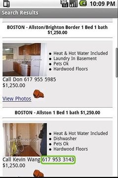 Search For Boston Apartments