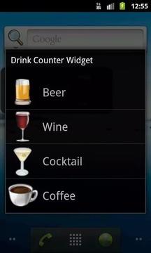 Drink Counter Widget
