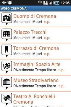 WIGO CREMONA - Touristic guide
