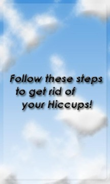 Get rid of Hiccups!